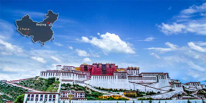 best time to visist china——Potala Palace, Lhasa ,Tibet, China