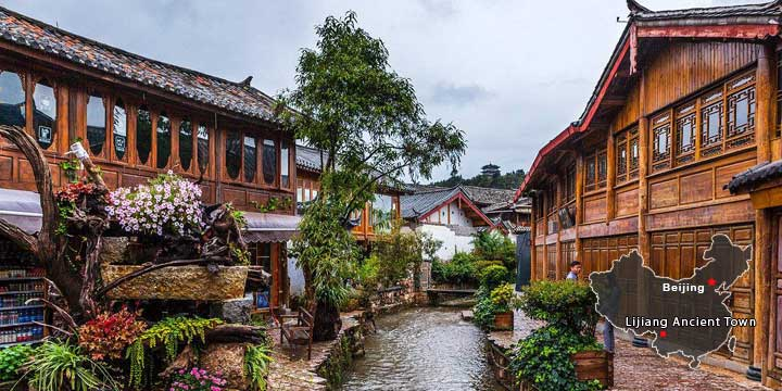 The Seven Most Beautiful Villages and Towns in China-Lijiang Old Town