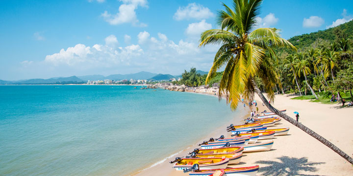 Most Beautiful Places in China - Sanya Yalong Bay