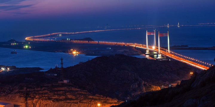 The Longest Bridges in China-Donghai Bridge