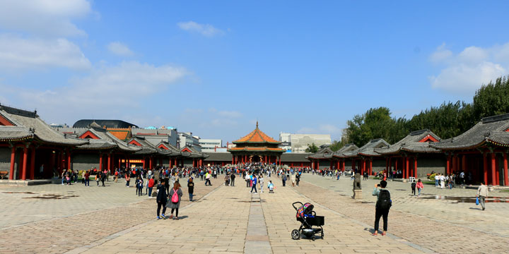 Most Famous Palaces in China - Shenyang Imperial Palace