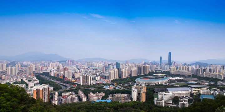 Most Famous Cities in China - Shenzhen