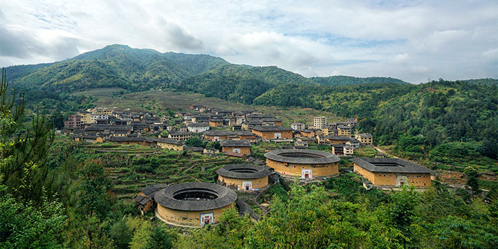 View of Tulou