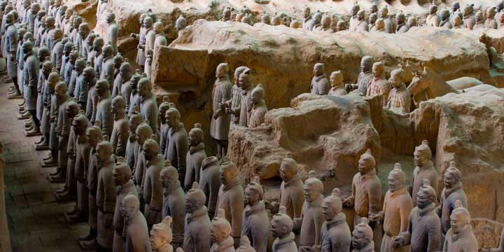 Top 10 China Attractions - Terracotta Warriors