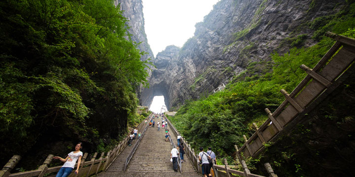 Tianzi Mountain--plan a trip to China from Czech Republic