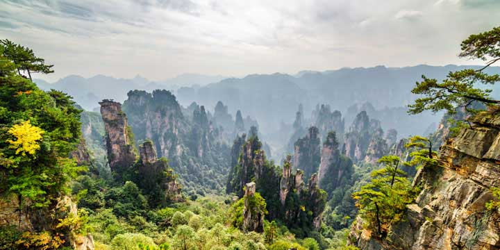 Most Beautiful Places in China - Zhangjiajie