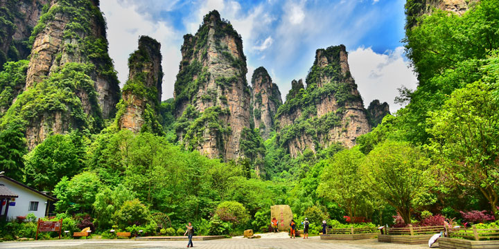 Zhangjiajie National Forest Park-best places for photograghy in China