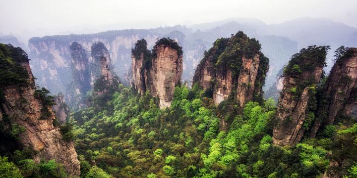 Parque forestal nacional de Zhangjiajie