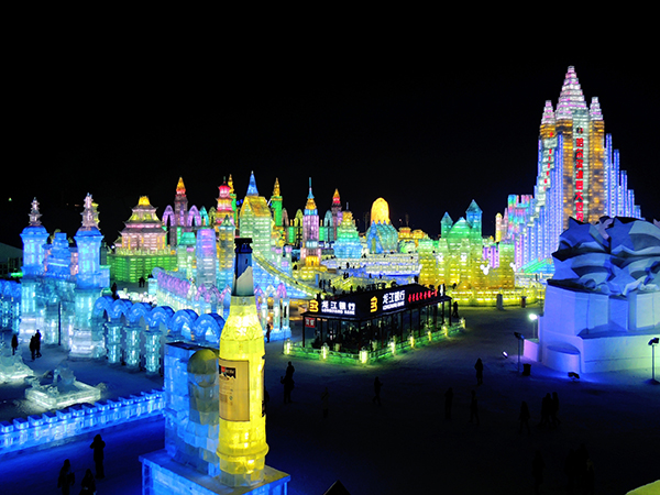 Harbin Ice and Snow Festival Tour