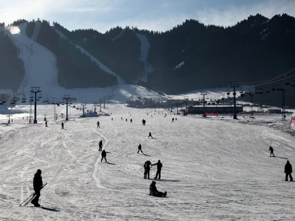 Top Ski Resorts in China -  Silk Road Ski Resort, Xinjiang Uygur Autonomous Region