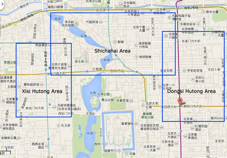 Beijing Biking Route