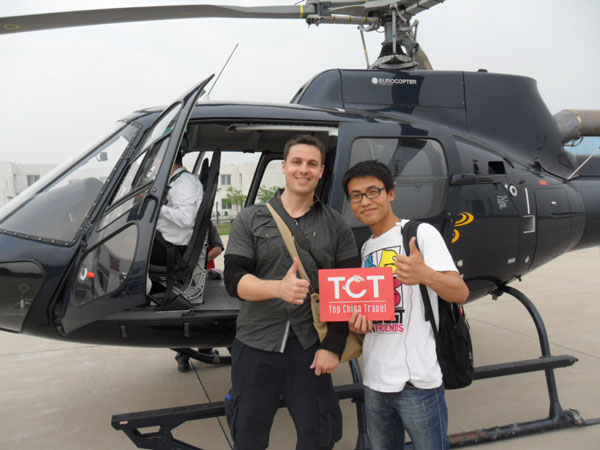 Enjoy the Great Wall Helicopter Tour
