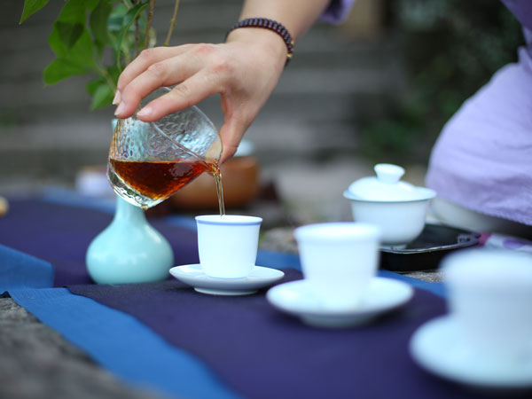 Have a Cup of Tea at Laoshe Teahouse