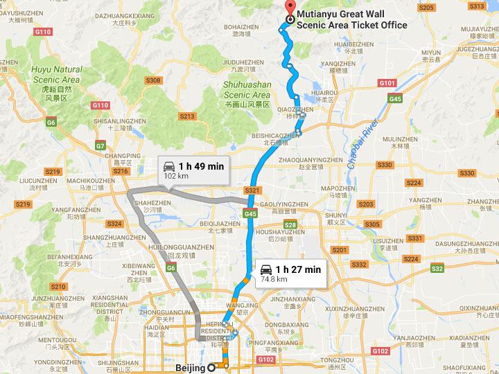 Mutianyu great wall in beijing history travel tips exploration mutianyu road huairou district beijing china gumiabroncs Images