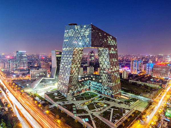 beijing cctv tower china central television headquarter