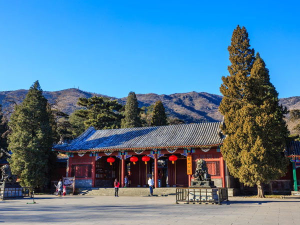 China Autumn Tour Destinations-Beijing Fragrant Hill