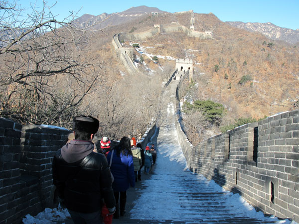 Winter's Great Wall
