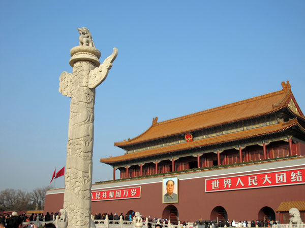 Famous Landmarks in China - Tiananmen Square