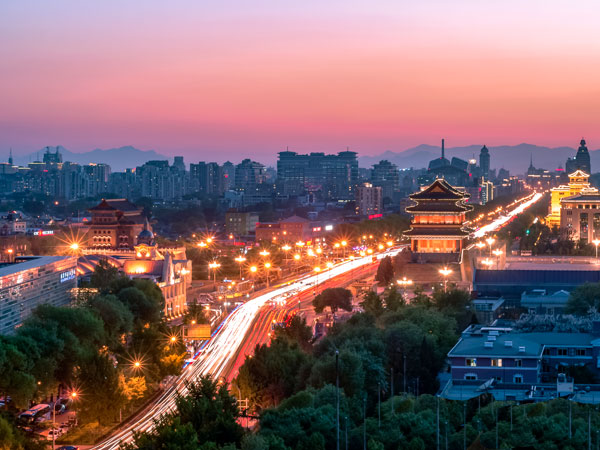 Beijing city view