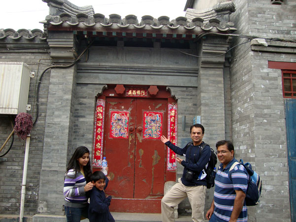 Clients at Beijing Hutong