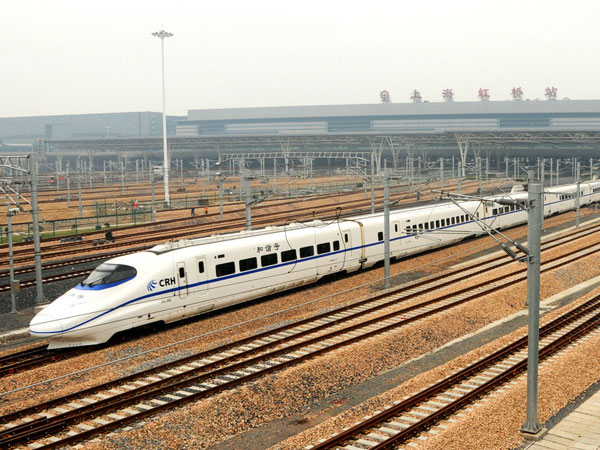 Beijing-Shanghai high-speed train