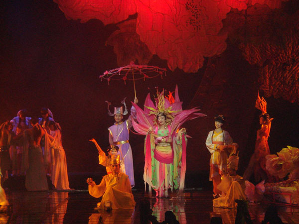 Enjoy the Music Opera in Chengdu – Golden Sand