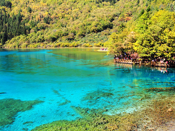 Image result for jiuzhaigou valley