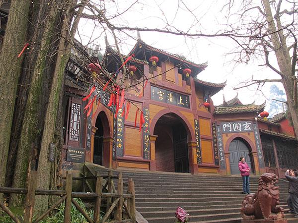 Der Shangqing-Palast