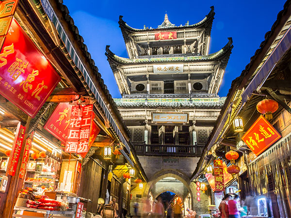 Top Ancient Towns in China - Langzhong Ancient Town
