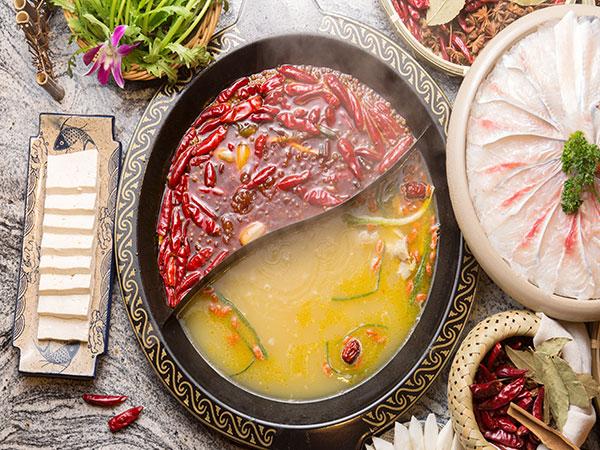 Chengdu Hot Pot, East Traditional Hot Pot in Chengdu in Sichuan