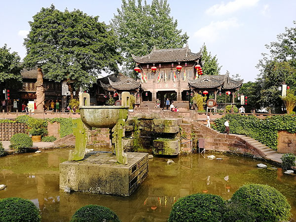 Huang Long Xi Ancient Town