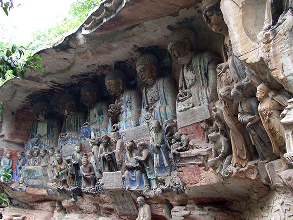 4 Days Chongqing Dazu Rock Carvings Tour