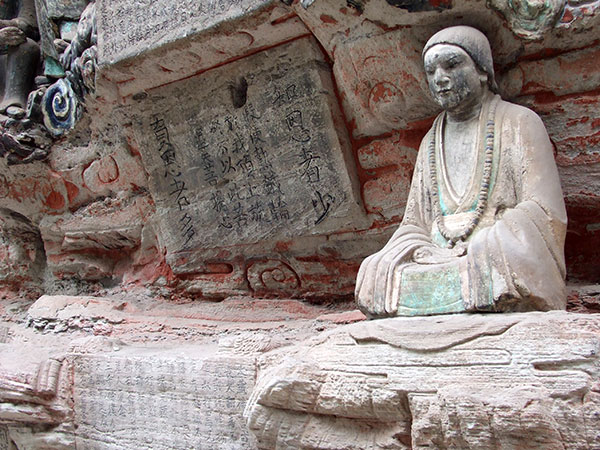 Dazu buddhist rock carvings chongqing what to see