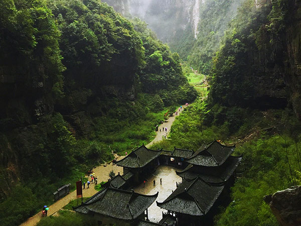 3 Days Chongqing to Wulong Tour
