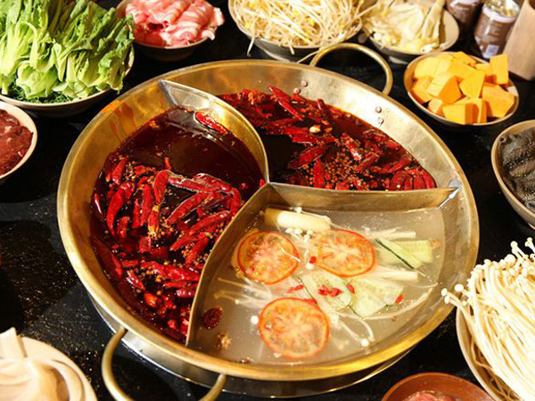Eat the Chongqing Hot Pot