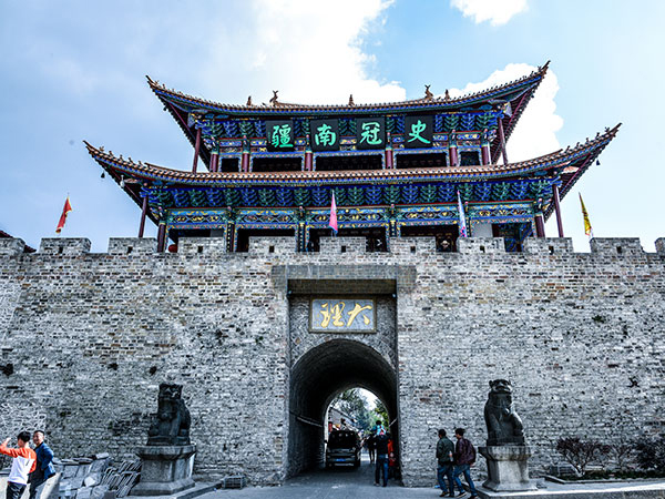 best time to visit dali - dali ancient town