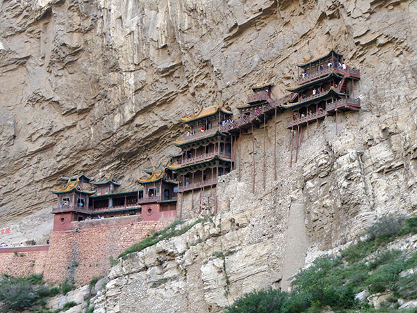 hanging temple, datong, china