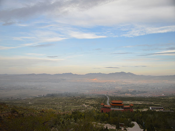 Mount Hengshan in Datong