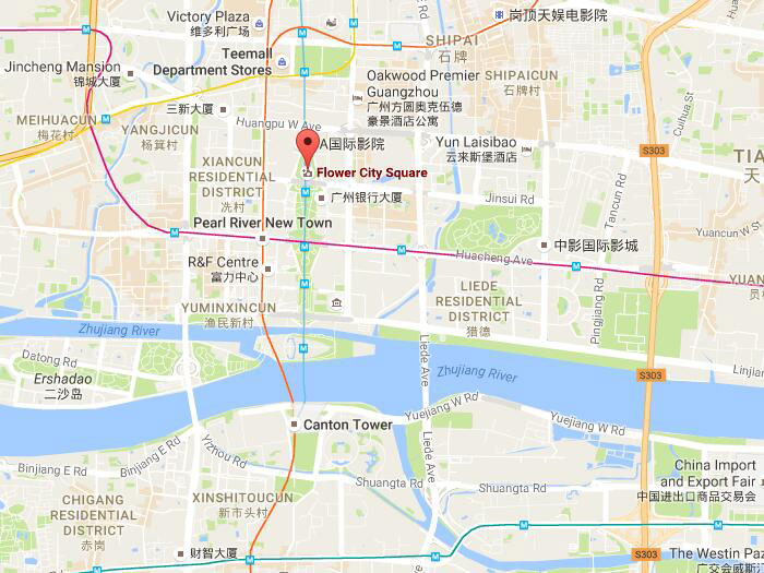 Flower City Square Guangzhou Address Attractions Nearby