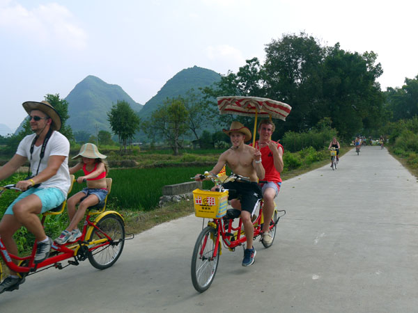 Take Bike in Yangshuo
