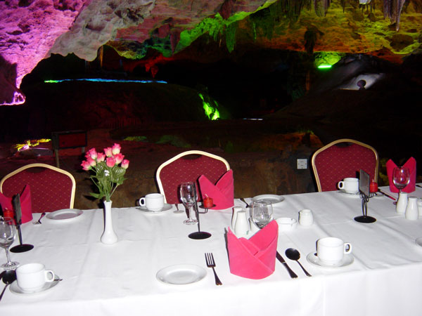 Have a Buffet in the Reed Flute Cave, Guilin