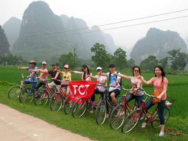 Rutas de bicicleta en Yangshuo 03
