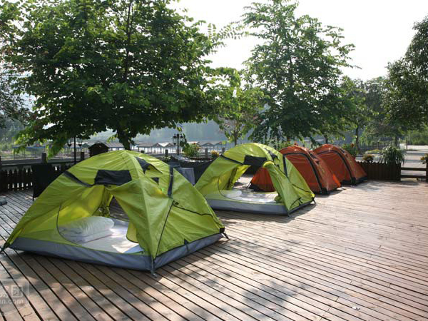 go camping in Yangshuo-what to do and learn during an educational trip to China
