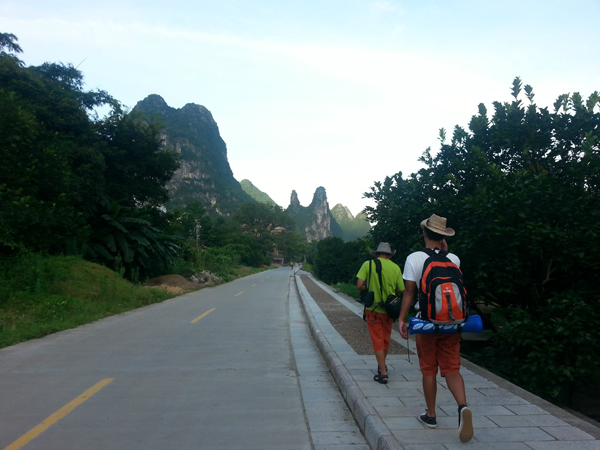 Hike in Yangshuo