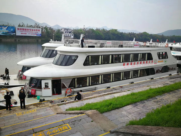 Cruise in Li River