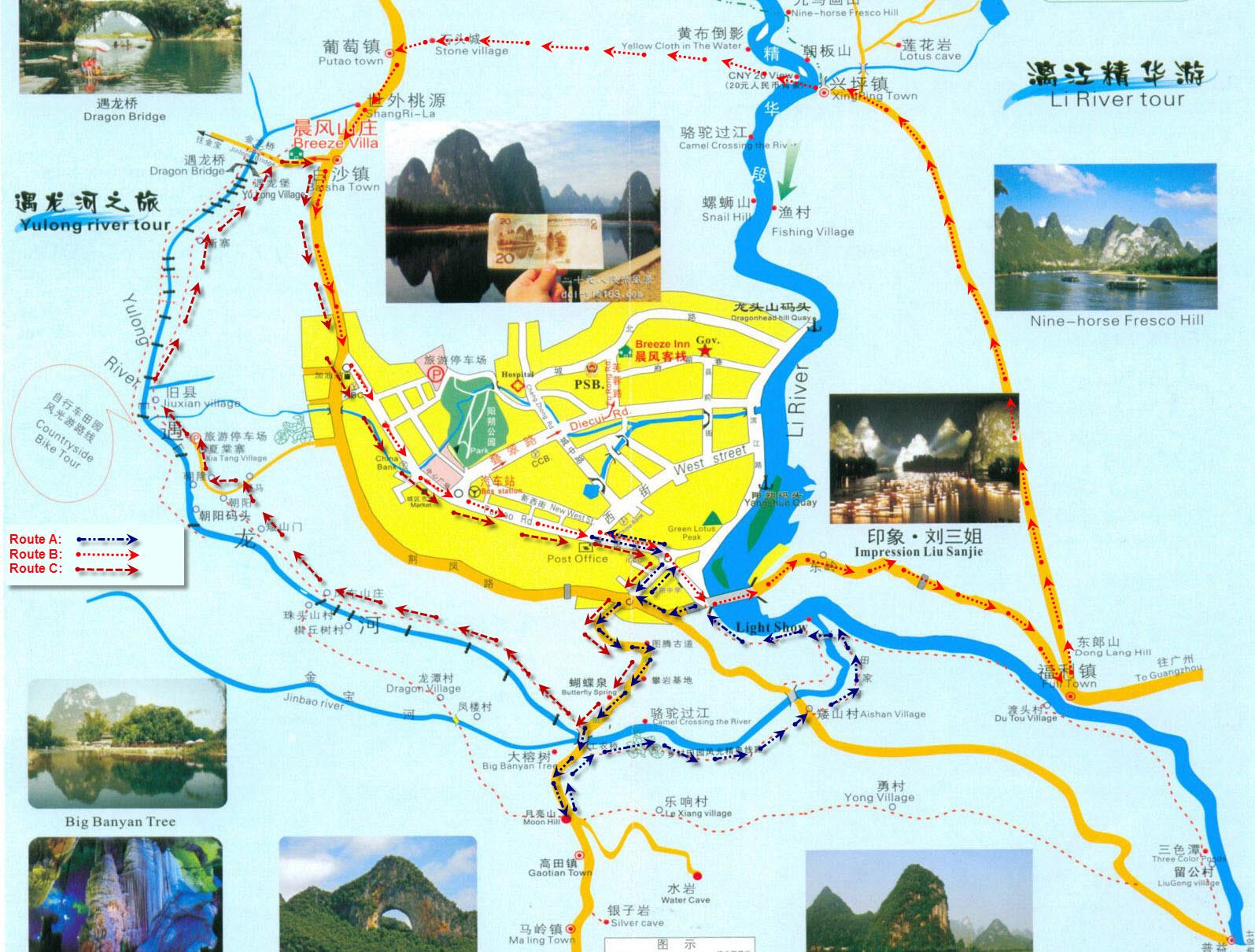 Explore Yangshuo Countryside Yangshuo Activities Things