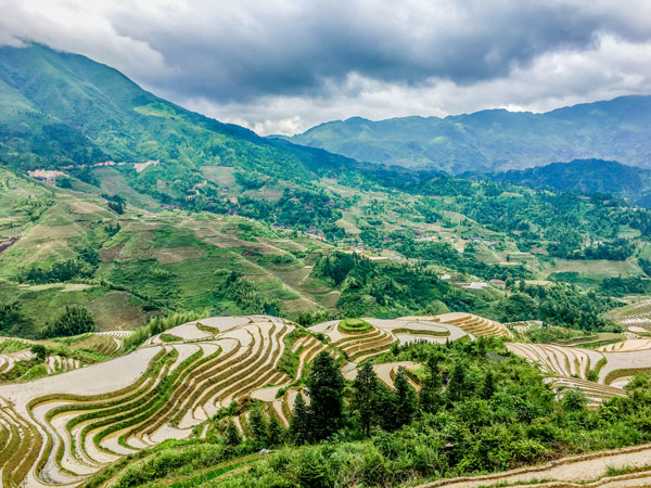 China Spring Travel Destinations-Longji Rice Terrace, Guilin