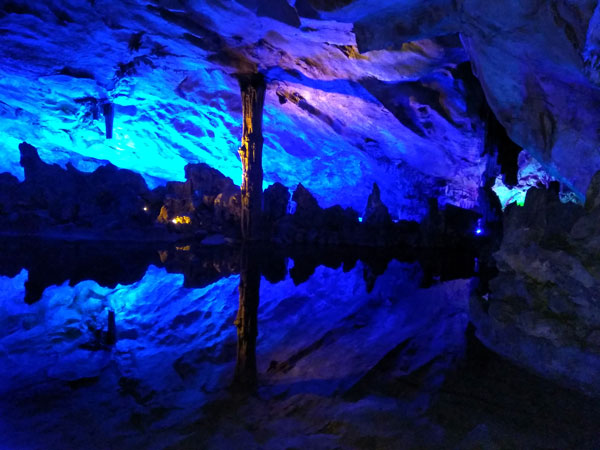 The Six Most Beautiful Caves in China-Benxi Water Cave
