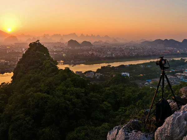 Famous Guilin Hills