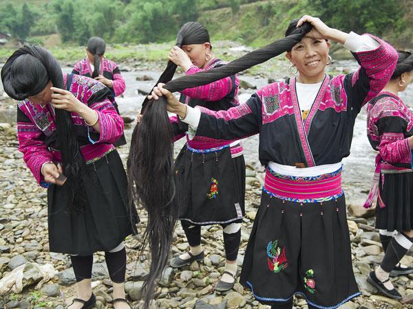 aldea de yao de pelo largo